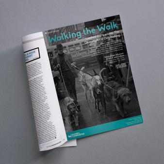 Dog Walking Exhibit