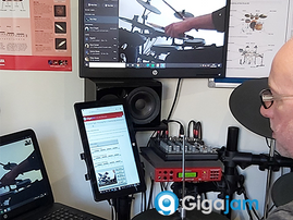 Online Drum Lessons - Powered by Skype, Zoom, Facetime & Messenger