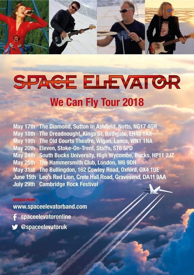 Space Elevator Tour Dates