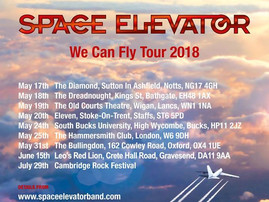 We Can Fly Tour - Space Elevator