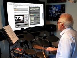 Online Drum Lessons  - SKYPE