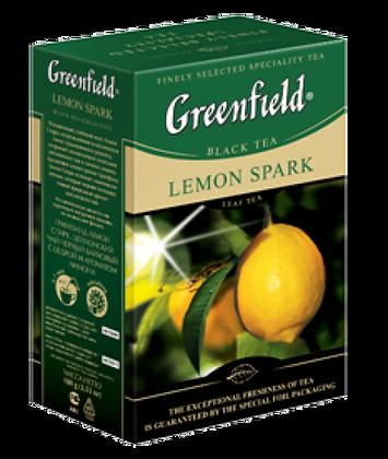 Чай Гринфилд lemon Spark 100гр *