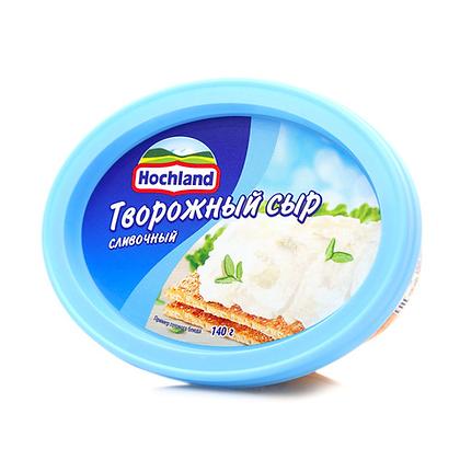 Hochland Творожный сыр с зеленью БЗМЖ 60% 140г