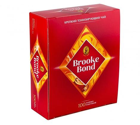 Чай Brooke Bond насыщ. черн.100пак*1.8г *