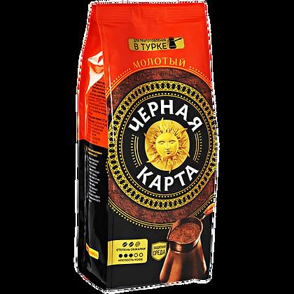 Кофе Черная карта молотый 100г м/у*