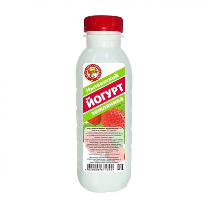 Йогурт Земляника 2.5% бзмж 400г п/б Нытва