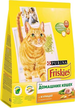 Кролик сух/корм д/кошек 1кг Фрискис*