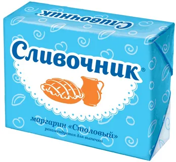 Маргарин Столовый Сливочник 40% 180г Н.Новгород