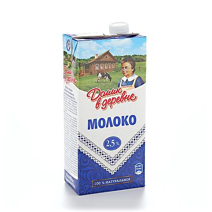 Молоко 2.5% 950г у/паст.Домик в деревне