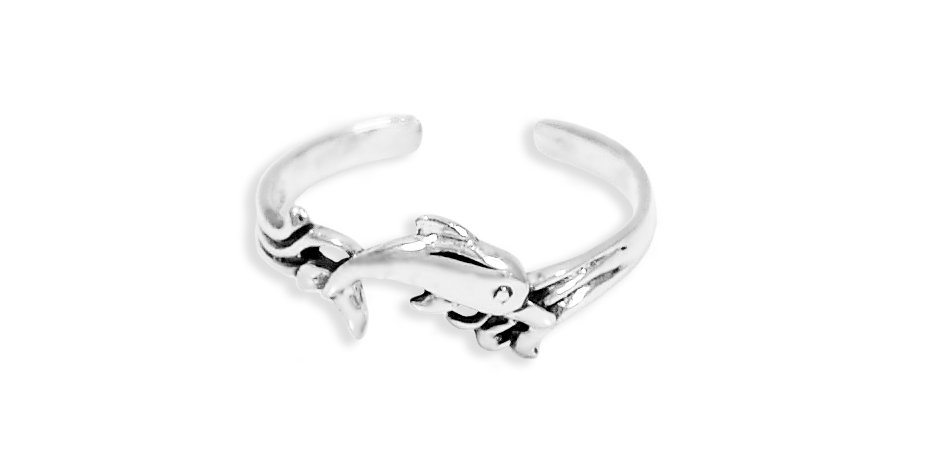 DOLPHINS TOE RING