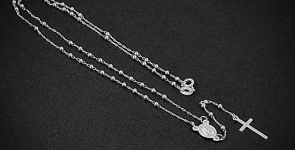"""ROSARY NECKLACE 16""""-3MM"""