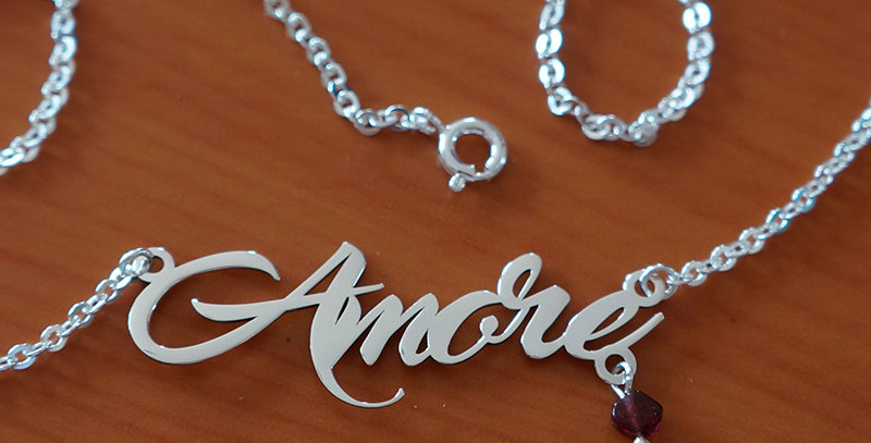 """AMORE CHAIN NECKLACE 18"""""""