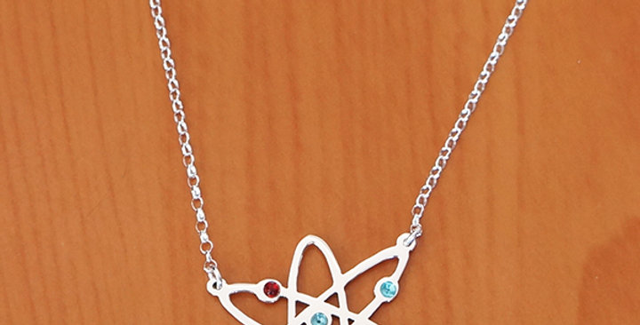"""ATOM CHAIN NECKLACE 18"""""""
