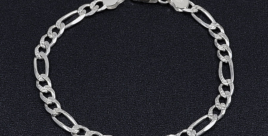 """5MM PAVE FIGARO LINK 8"""""""
