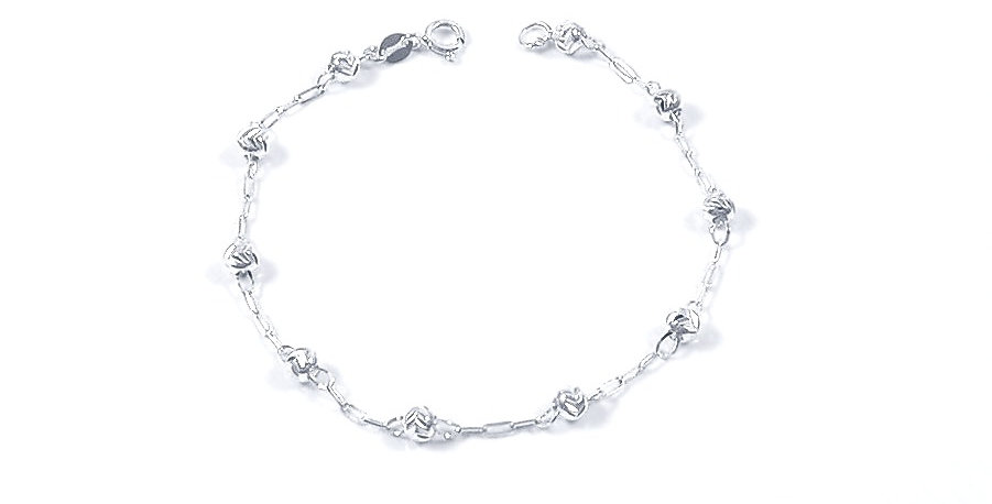 BALL CHAIN BRACELET 6.5 INCHES