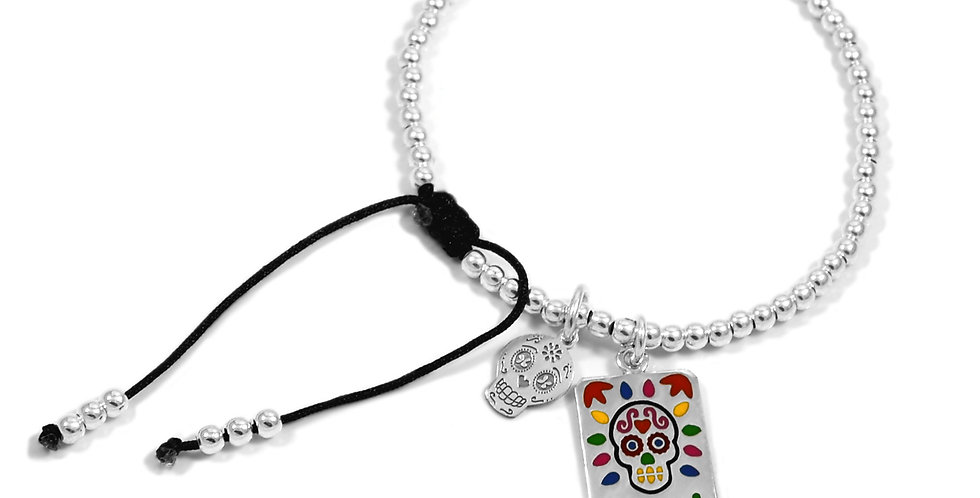 3MM PULSERA MEXICANA CALAVERITAS