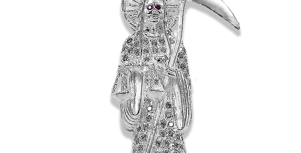 SAINT OF HOLY DEATH PENDANT 75MM