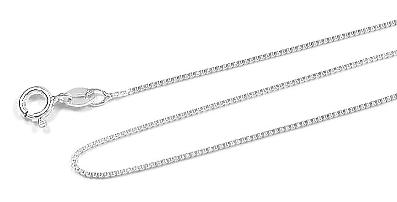 .80MM BOX CHAIN NECKLACE 20 INCHES