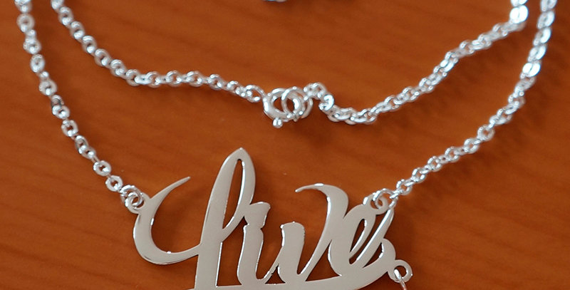 """LIVE CHAIN NECKLACE 18"""""""