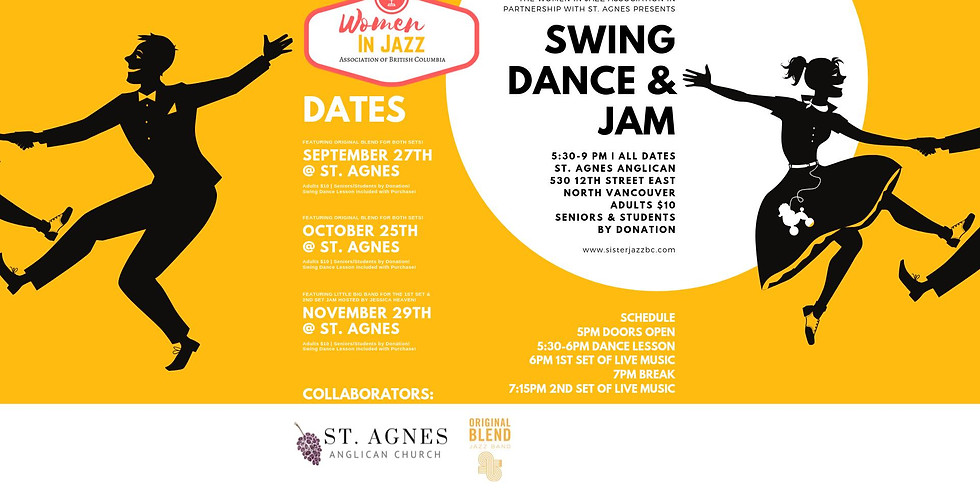 The Leading Ladies at the Swing Dance and Jam