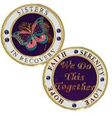 Sisters In Recovery Medallion