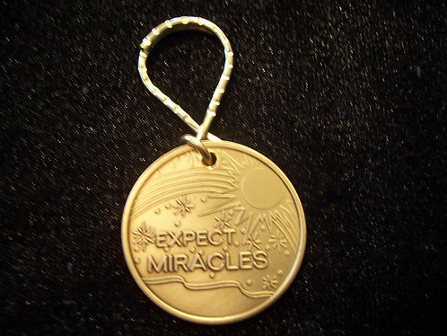 Expect Miracles Key Chain