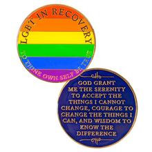 LGBT Recovery Medallion