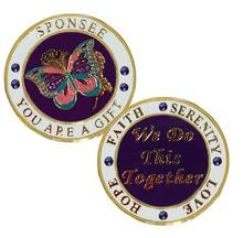 Sponsee, Butterfly Recovery Medallion
