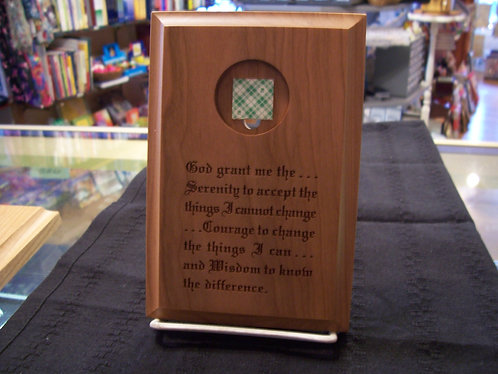 Coin Holder Plaque