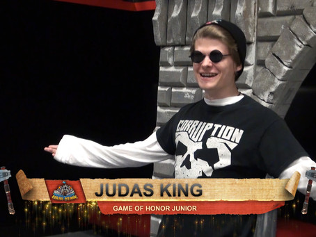 Interview with new Game of Honor Junior, Judas King!