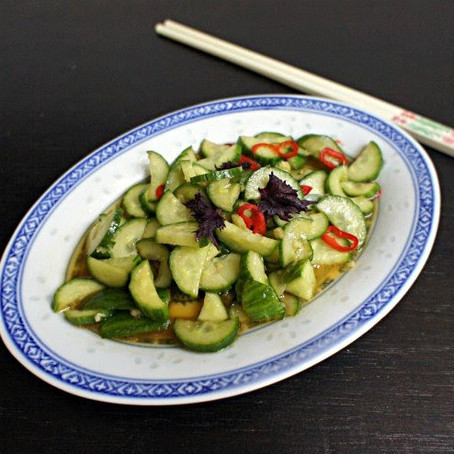 Easy Chinese Cucumber Salad
