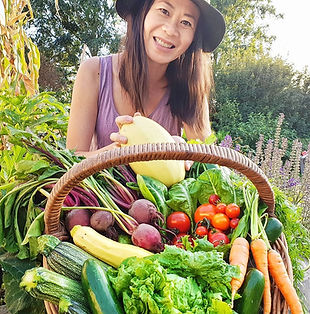 Jo Jo Yee from Allotment Challenge,