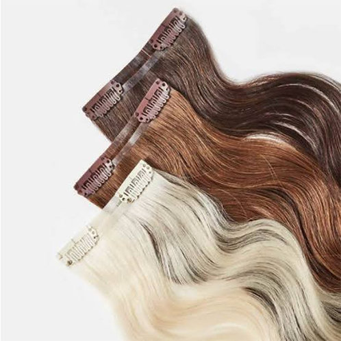 Adding Clip in Hair Extensions