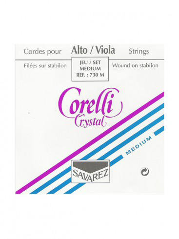 Corelli Crystal Viola Strings