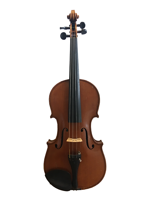 German Master Violin by Heinrich Th. Heberlein, 1912