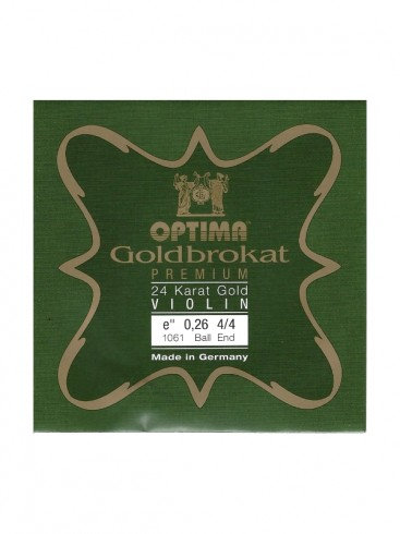 Optima Goldbrokat Premium Violin E String