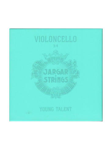 Jargar Young Talent 1/4 – 3/4 Fractional Cello Strings