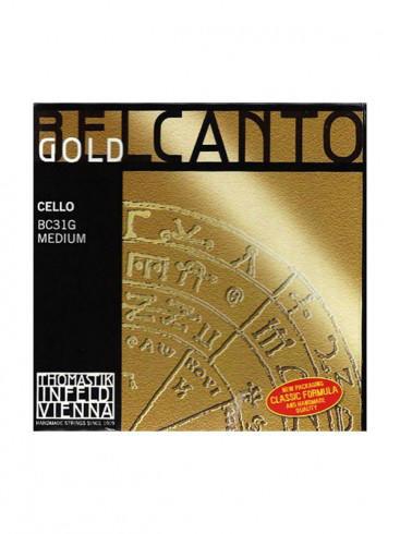 Belcanto Gold Cello Strings
