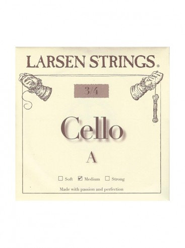 Larsen Cello Strings, Fractional Sizes