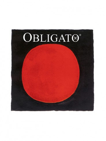Obligato Violin Strings with Gold E