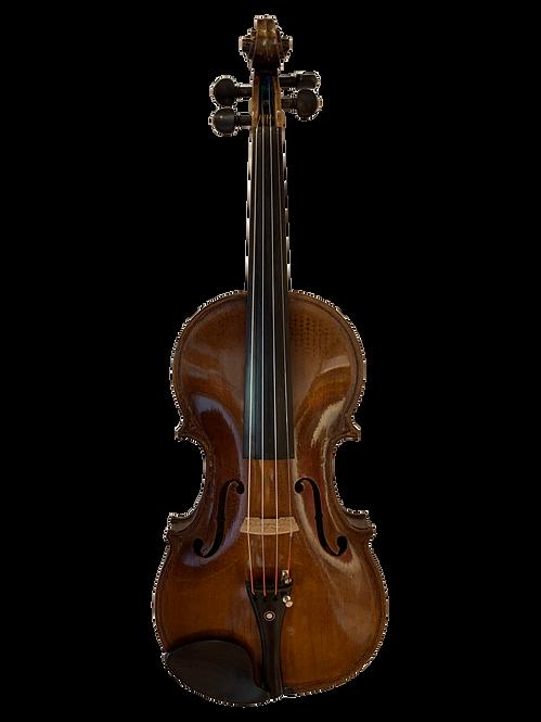 German Violin by Louis Lowendall, 1901