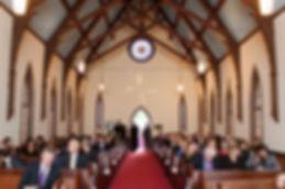 Pequot Chapel Interior