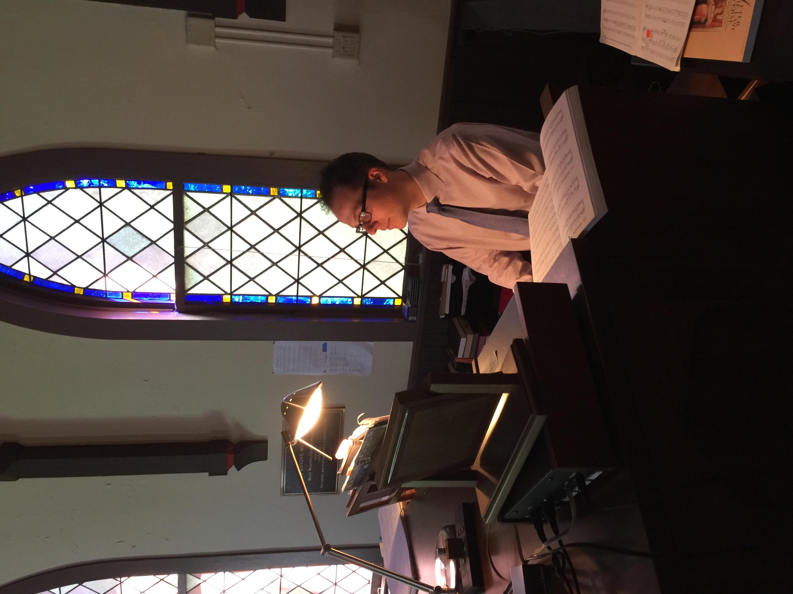 Brett Judson - Organist