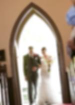 Pequot Chapel Wedding Bride