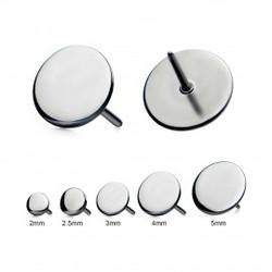 titanium-threadless-flat-discs