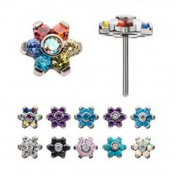 titanium-threadless-with-prong-set-multi