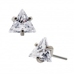 titanium-threadless-with-prong-set-trian