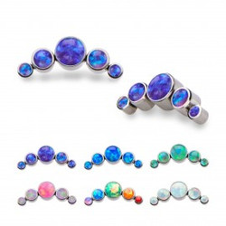 titanium-5-synthetic-opal-cluster-tops