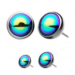 titanium-threadless-rainbow-pearl-front-