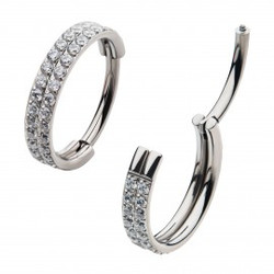 titanium-with-double-row-1mm-square-clea